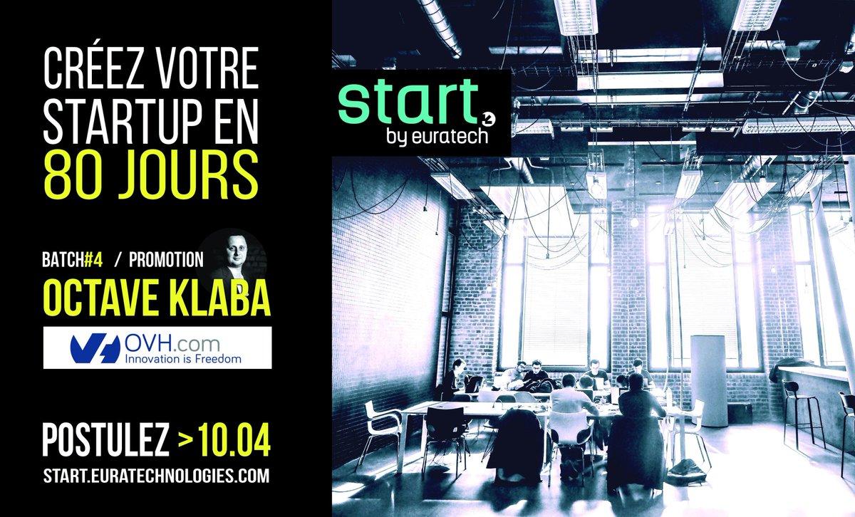 Envie d&#39;entreprendre et de créer ta #startup?! Rejoins notre programme d&#39;#incubation #Start ! INSCRIPTION par ici ! &gt; http:// bit.ly/22xSWxj  &nbsp;  <br>http://pic.twitter.com/iUl9478Zld
