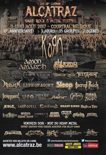 Alcatraz Hard Rock & Metal Fest