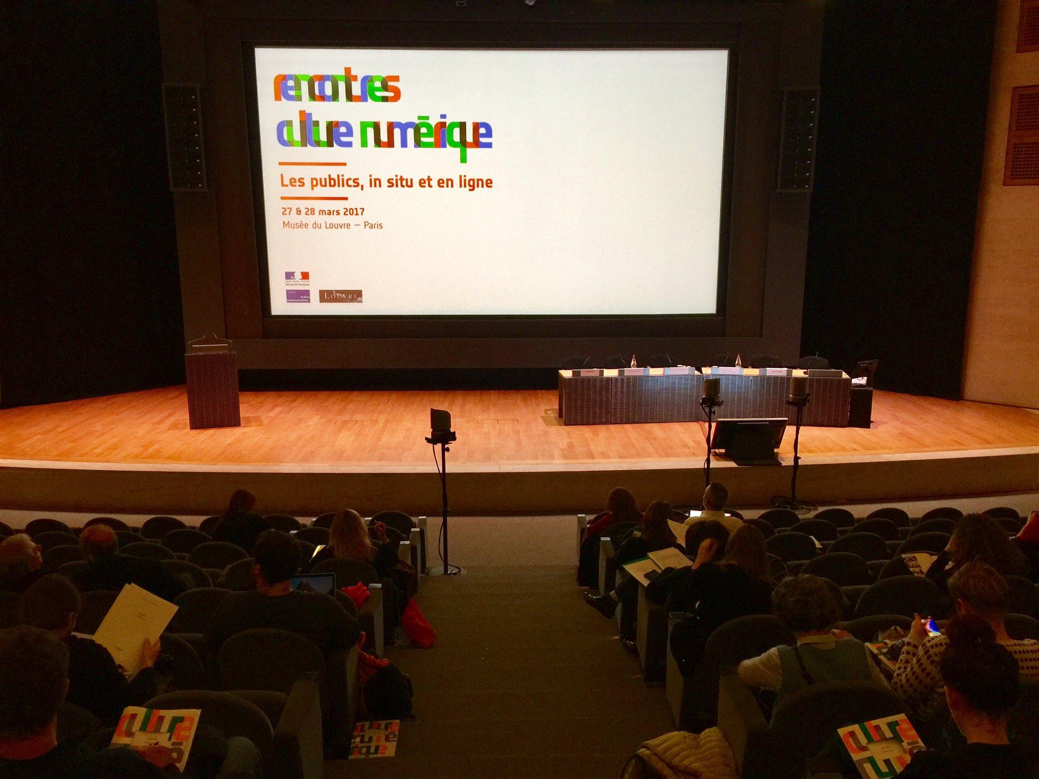 Les #RencNum du @MinistereCC commencent @MuseeLouvre 2 jours pour échanger autour des publics, in situ et en ligne > https://t.co/cJaJUrA6cY https://t.co/DOKSMtvYVz