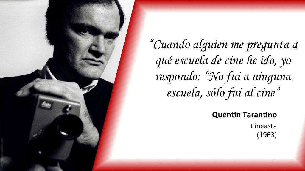 #TalDíaComoHoy de 1963 nació el cineasta Quentin Tarantino https://t.c...
