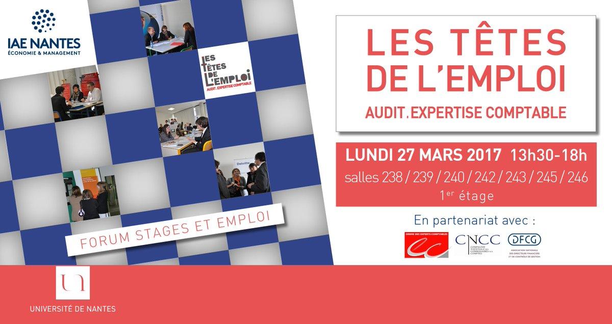 2/2  #Créerdulien Merci aux entreprises présentes au #Forum #audit #expertise #comptable #InsertionPro des #étudiants #stage #emploi<br>http://pic.twitter.com/WBNDPd5111