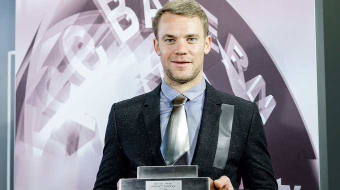 Happy 31st birthday Manuel Neuer!  Games - 183 Clean Sheets - 100 Ties made from metal - 1