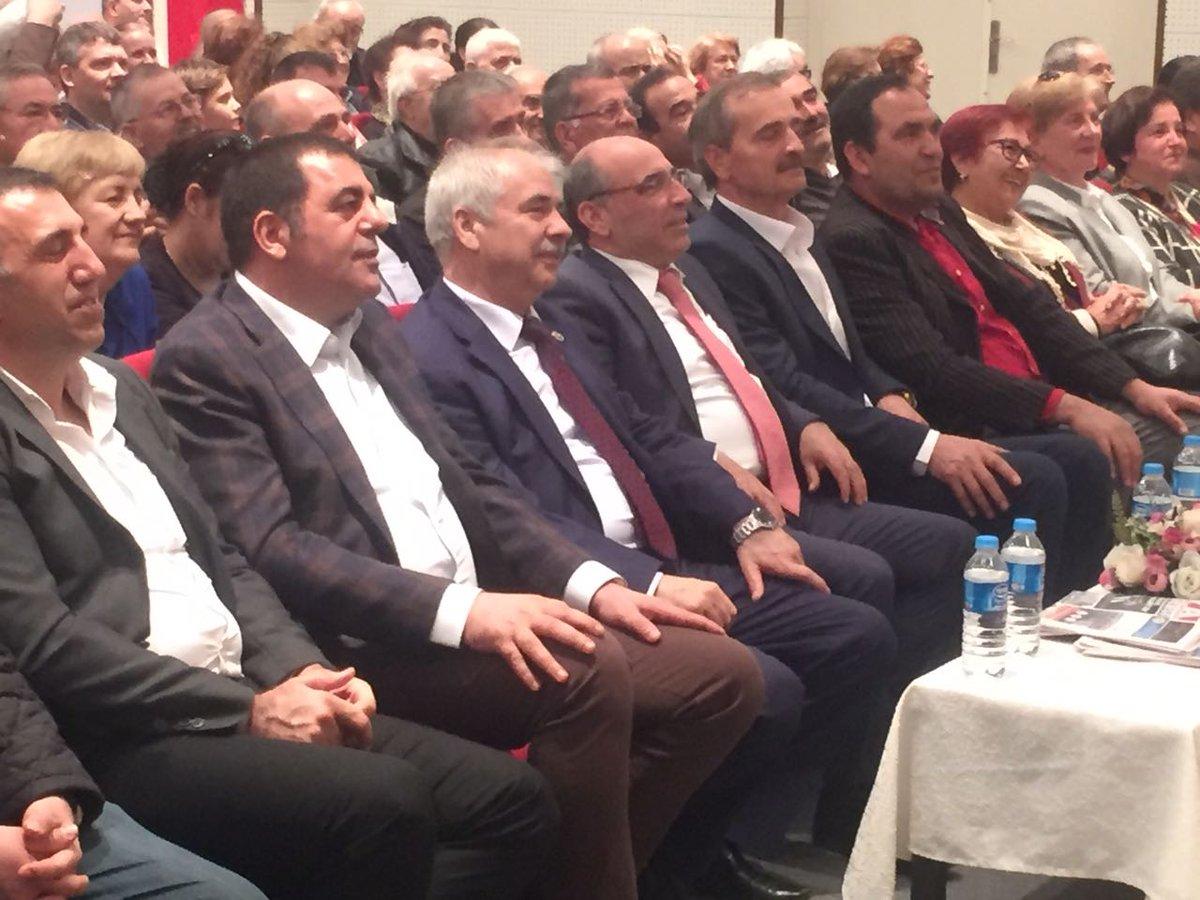 """CHP milletvekilleri, Keşan İlçe Örgütü'nün organize ettiği """"hayır"""" etk..."""