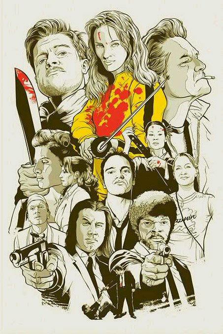 Happy Birthday Mr Quentin Tarantino