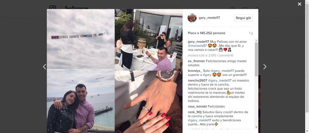 Gary Medele la spettacolare proposta di matrimonio alla sua Cristina - https://t.co/Cs9OHAK1Xu #blogsicilianotizie #todaysport
