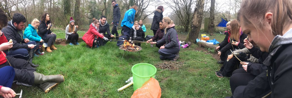 Toasting Marshmallows at @MillbrookP #Forestschool @BAPrimaryUSW<br>http://pic.twitter.com/pnW5dc0BXJ