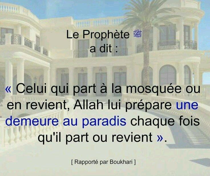 Celui qui part à la mosquée...                            #Islam <br>http://pic.twitter.com/sQVOqVQbNx