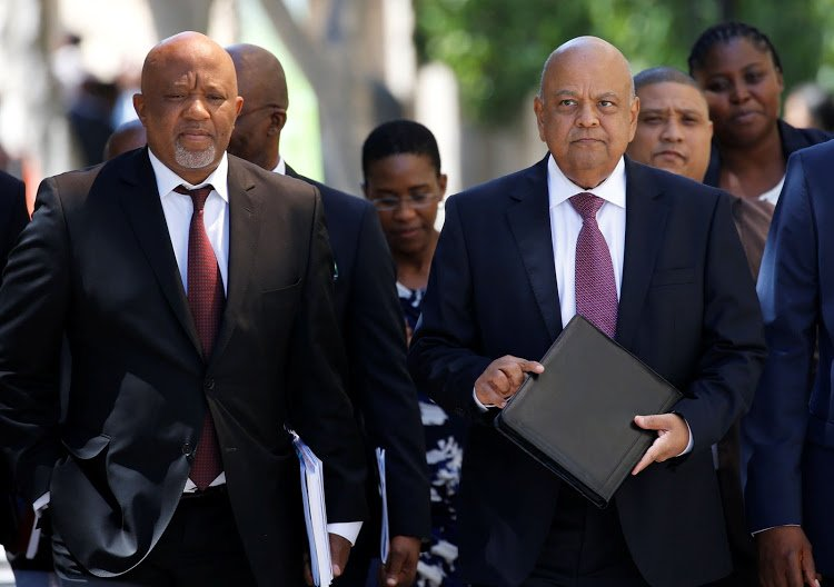 BREAKING > Zuma orders Gordhan, Jonas to return from \'unauthorised\' UK roadshow