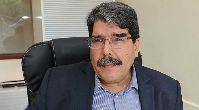 PYD Co-President Muslim: #Russia and the #US may tell #Turkey to &#39;get out of #Syria, get your hands off of here&#39; in the near future. ANF<br>http://pic.twitter.com/2vFy4ZGjxr