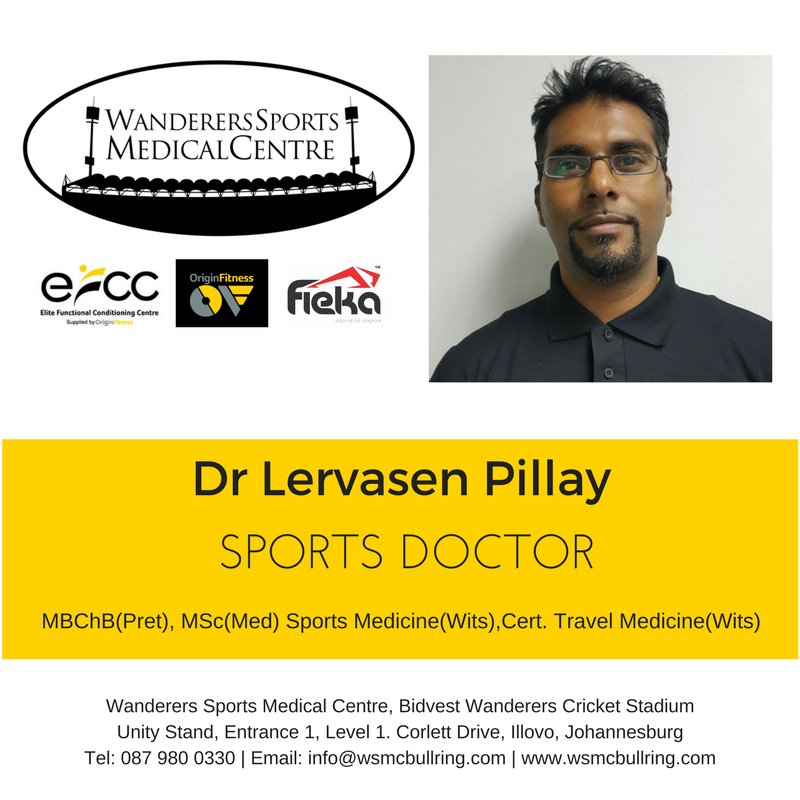 Introducing Dr. Pillay, our Sports Physician attending to injury, illness &amp; medical condition management. #WSMC #MeetTheTeam <br>http://pic.twitter.com/qETjDcMx7g