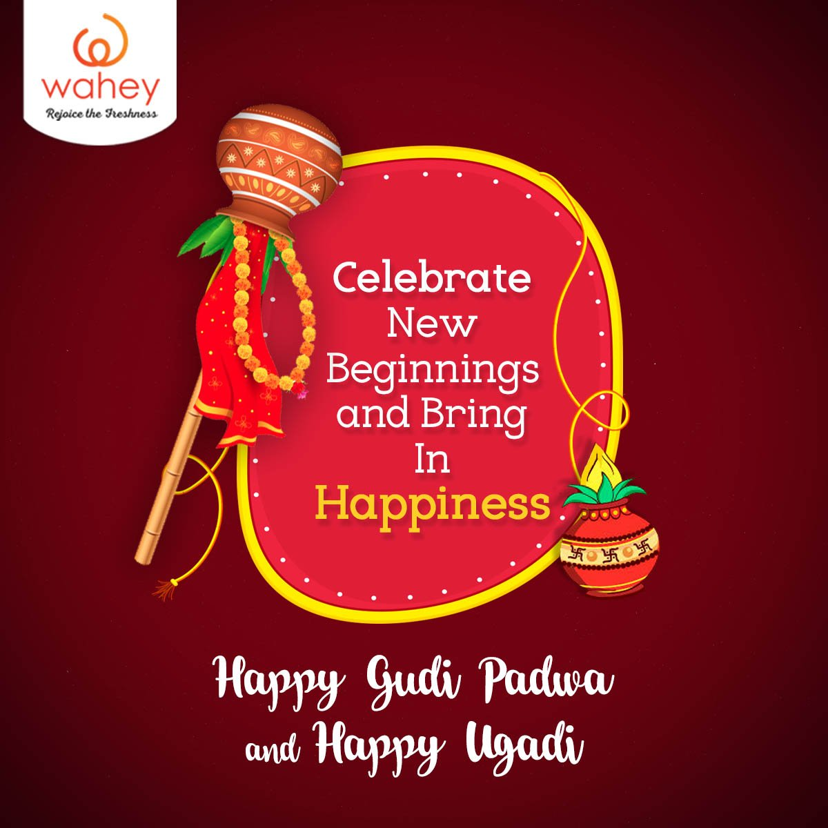 #Wahey! It's new year! Happy Gudi Padwa and Happy Ugadi everyone :) #Happy #GudiPadwa #Ugadi<br>http://pic.twitter.com/RdRzhUuTWj