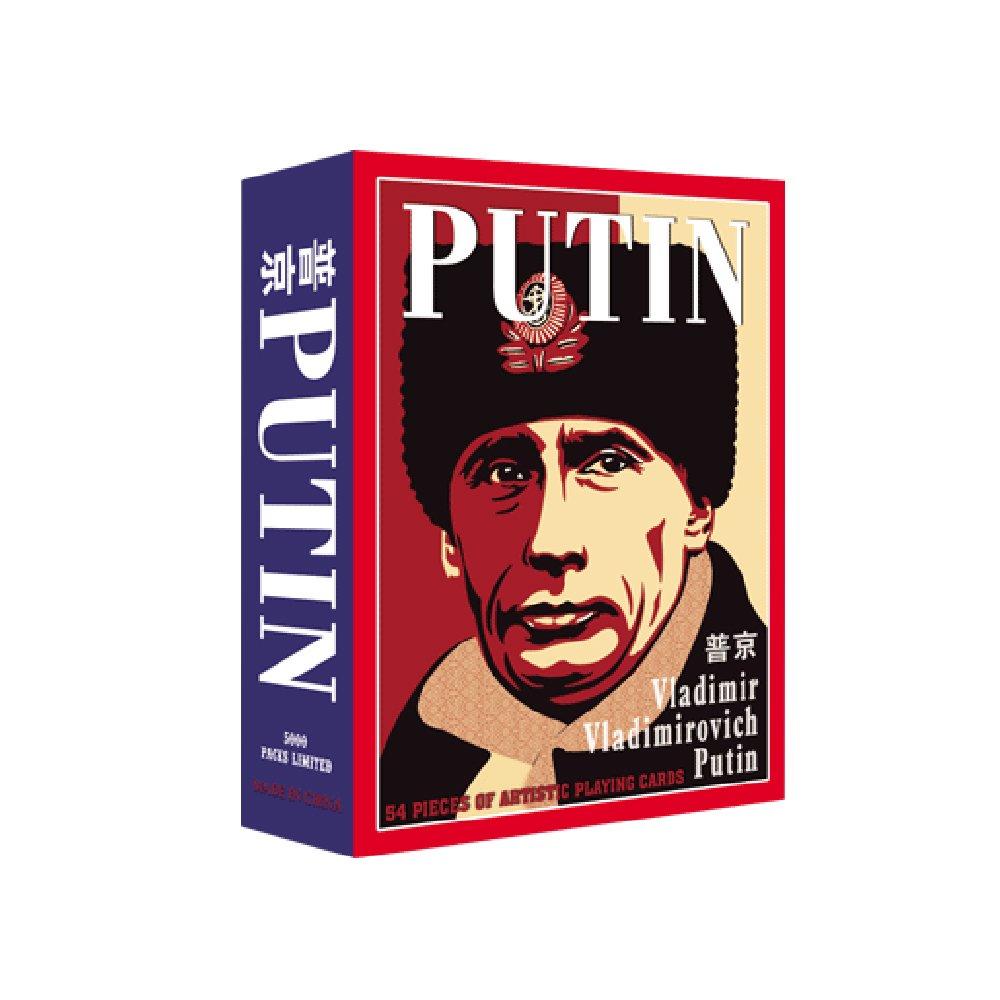 Vladimir Putin Poker Cards #Putin #VladimirPutin  http:// goputin.com/product  &nbsp;   ...  http:// goputin.com/product/free-s hipping-54pcs-set-president-of-the-russian-vladimir-putin-poker-celebrity-playing-cards-human-theme-poker-cards/ &nbsp; … <br>http://pic.twitter.com/SVneEdDbFl