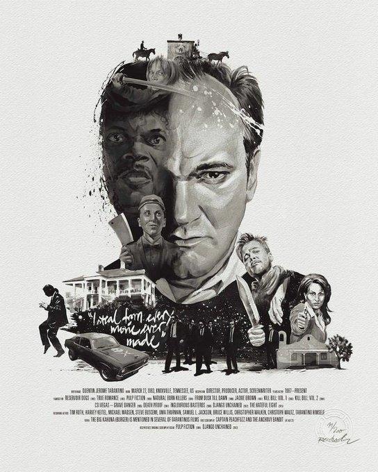 Happy Birthday Quentin Tarantino !  Le réalisateur de mes premiers émois cinephiliques.