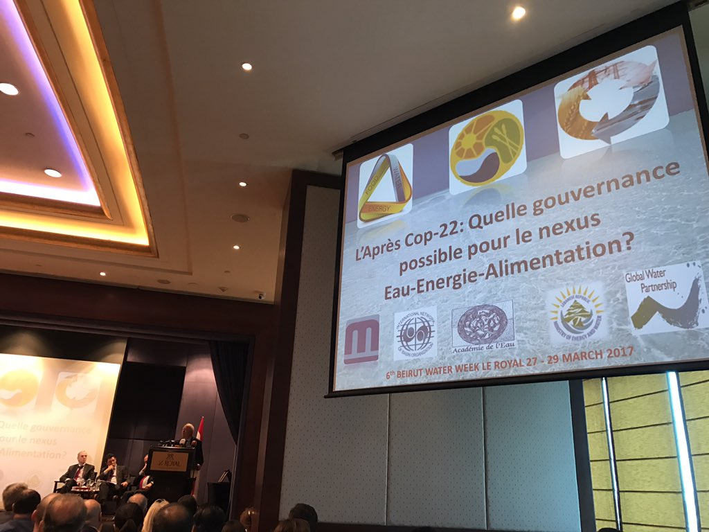 6ème semaine de l&#39;Eau de #Beyrouth #MinistryOfEnergyAndWater #Lebanon #SustainableDevelopment #Governance #GlobalWarming<br>http://pic.twitter.com/D7hREltvIi