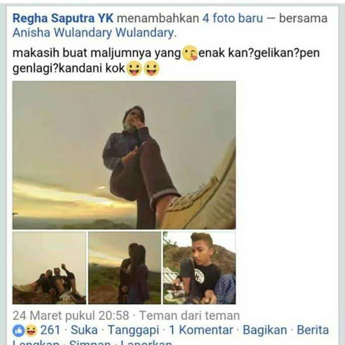 Status Fb Abg Dan Balasan Dari Pacarnya Soal Malam Jumat Bikin Yg Baca Jadi Mikir Chirpstory
