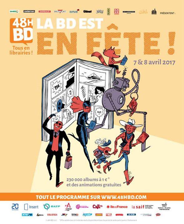 #Paris : #La BD en fête pendant 48h chez Maupetit  https://www. unidivers.fr/rennes/la-bd-e n-fete-pendant-48h-chez-maupetit/ &nbsp; …  Voici le programme des animations : •Vendredi 7 avril ...<br>http://pic.twitter.com/Sbe6kvAkXu