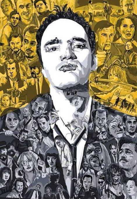 Happy Birthday to Quentin Tarantino.