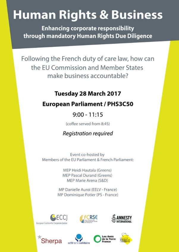 A Bruxelles demain pour intervenir à un colloque sur la #RSE pr porter ma proposition de « carton vert » soutenue par 10 chambres de l'UE https://t.co/Uasib2E2mE