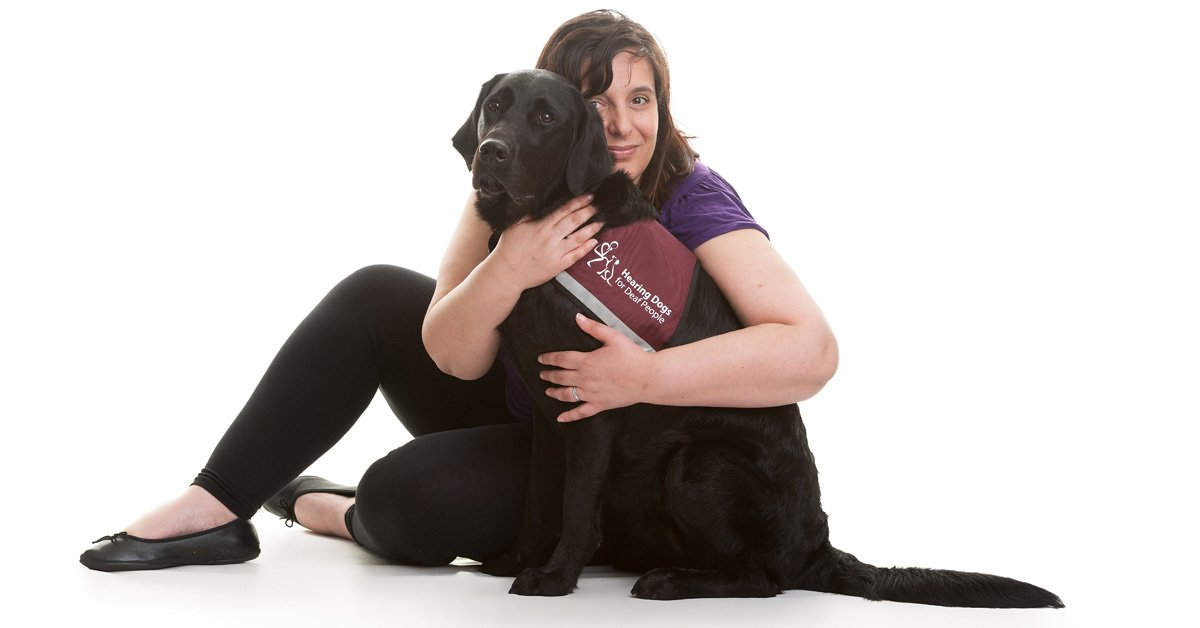 Meet our March Partnership of the Month - Lisa and her hearing dog Inca! Read their story >>