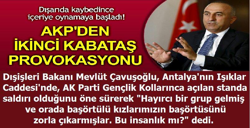 AKP'den İkinci Kabataş Provokasyonu https://t.co/ZUzE6M5P9B