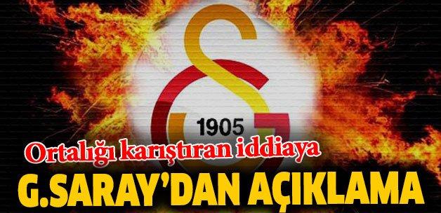 #FLAŞ #FLAŞ Ortalığı karıştıran iddiaya Galatasaray'dan açıklama https...