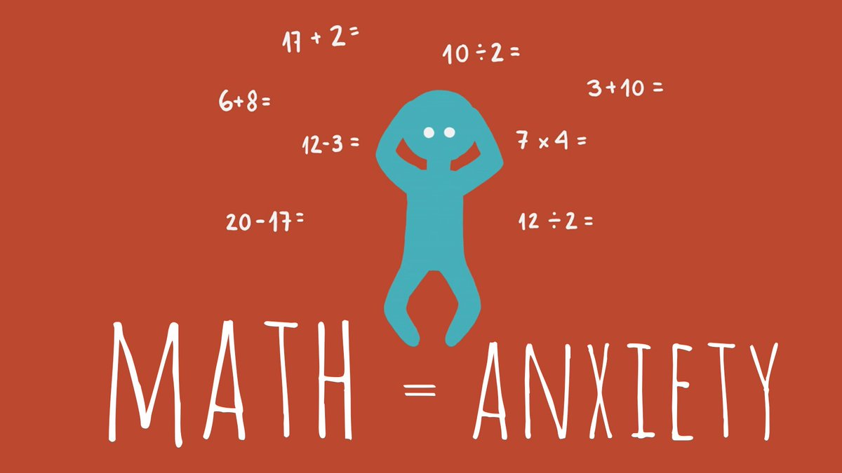 Does math make you anxious? You're not alone: https://t.co/AsjHDozqF7...