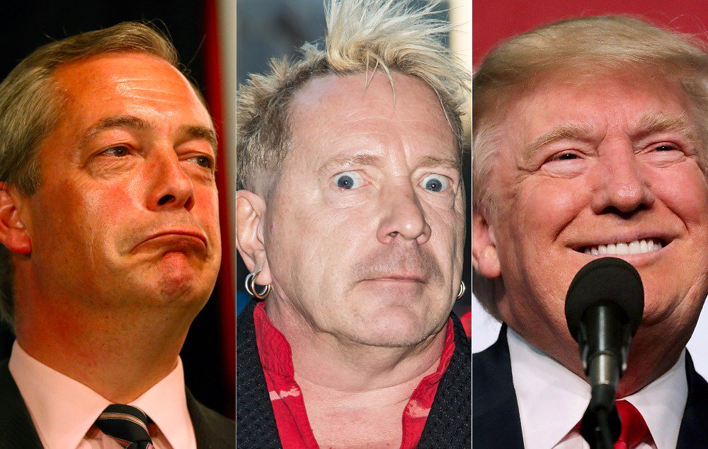 Watch John Lydon defend Brexit, Nigel Farage and Donald Trump https://...