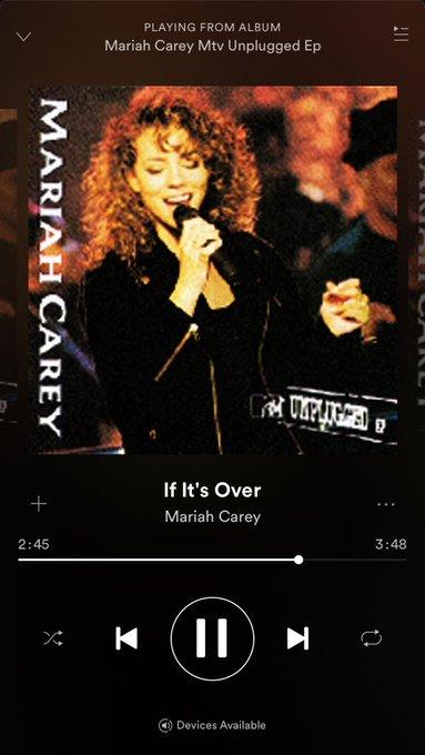 I\m shot in on the ground ! Happy Birthday Mariah Carey!!!