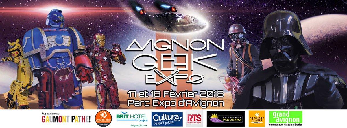 À vos agendas, rendez-vous pour la suite les 17 et 18 février prochain ! #Avignon #PACA #Geek #Salon #Montpellier #Cosplay #Anime #AGE2<br>http://pic.twitter.com/bXLRq6Y2tV