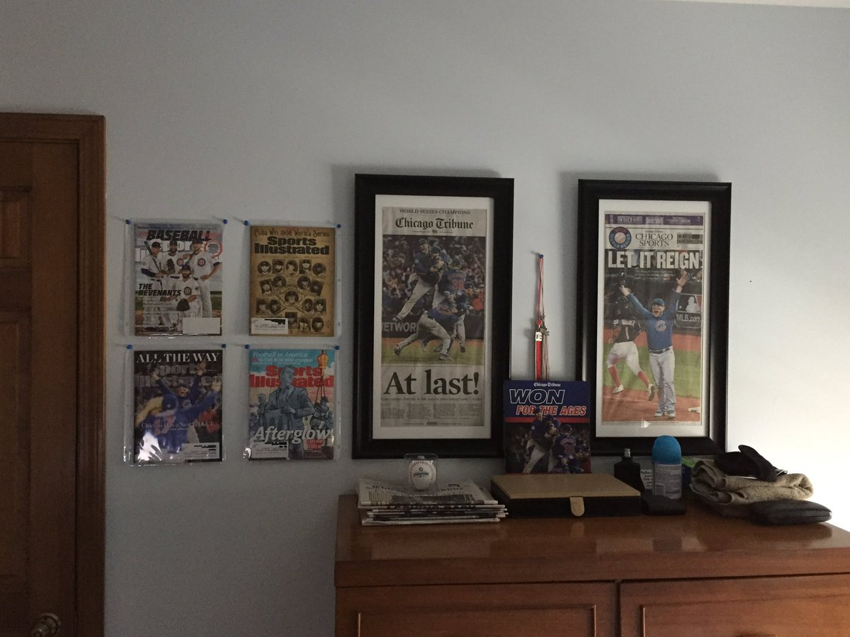 @BallparkArt #Wrigleyfield. It'll look good with my collection. https:...