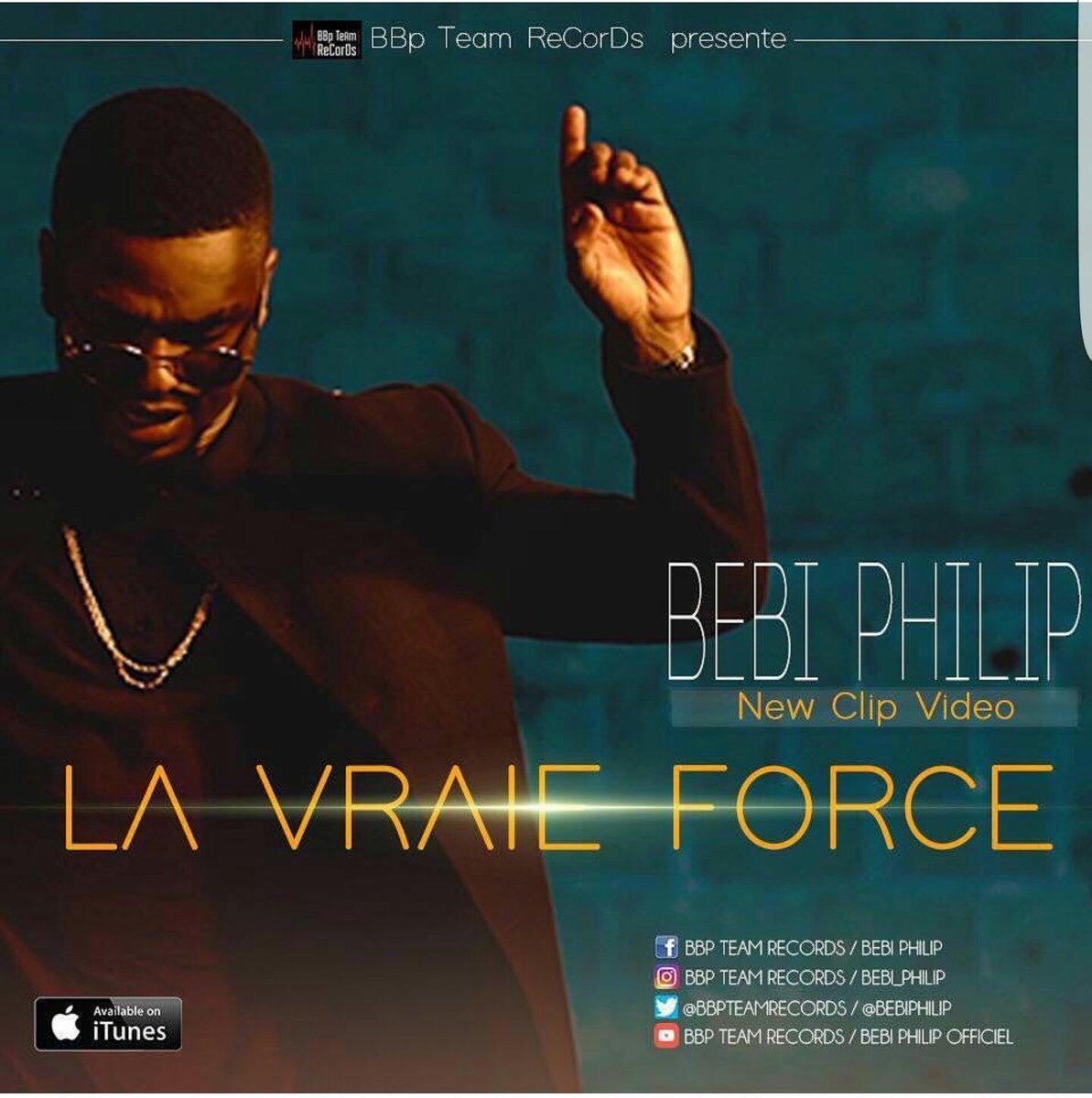 Video officielle du nouveau clip de &quot;MrBBP&quot; sur Youtube. #La Vraie Force   https:// youtu.be/GlwS8DAFAUk  &nbsp;    @bebiphilip<br>http://pic.twitter.com/lyyWozekKb