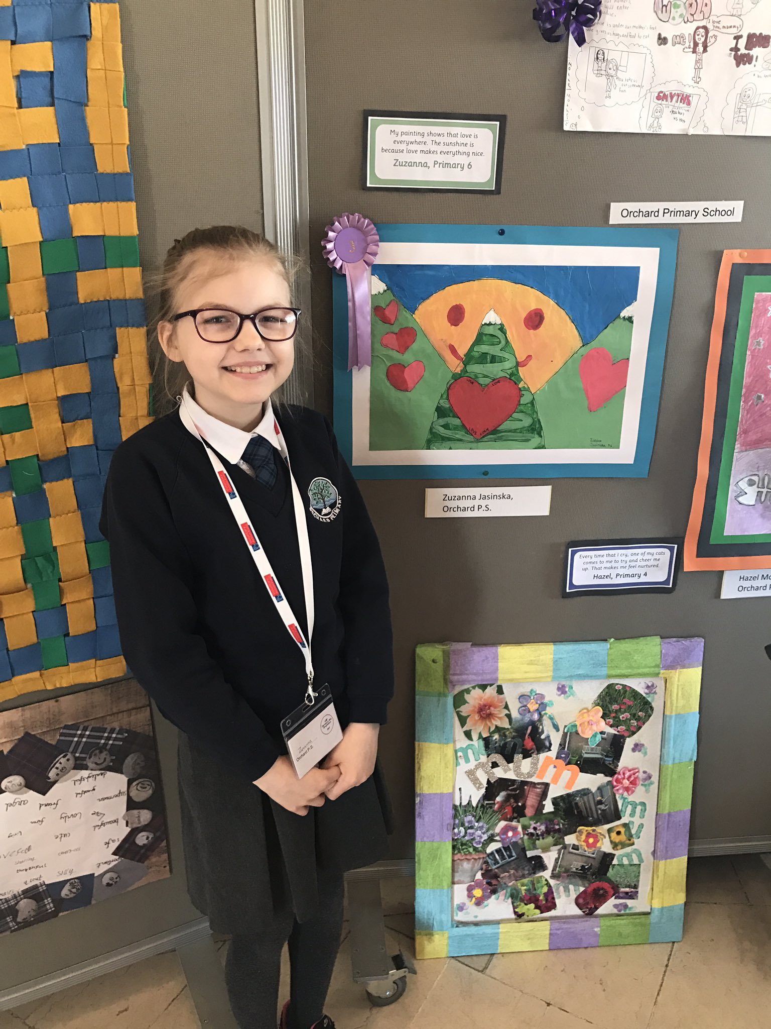 Well done to this P6. So pleased we could be there today as she won 3rd place @volactionfund @americanmothers #ArtsVAF17 #nurture 🎨😊 https://t.co/BXBtNdZc3W