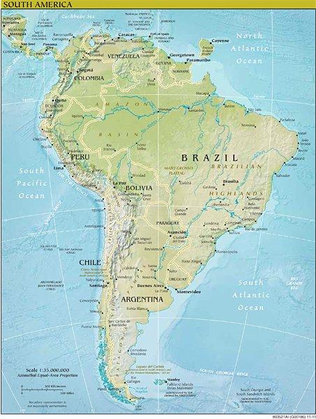 Voici la nouvelle carte d&#39;#Amérique du Sud selon #Macron.  La #Guyane est une #île.  #EnMarche vers l&#39;imbécilité #Presidentielle2017 <br>http://pic.twitter.com/0Cx8QJUqZR