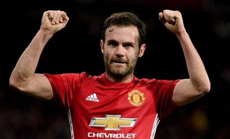 Juan Mata has set his Manchester United team-mates a challenge https:/...