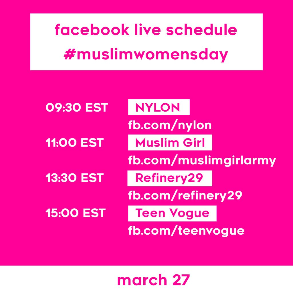 happy FIRST EVER #muslimwomensday!!! keep an eye out for these awesome...