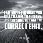 RT @gary_hensel: Failure is the road you will trav...