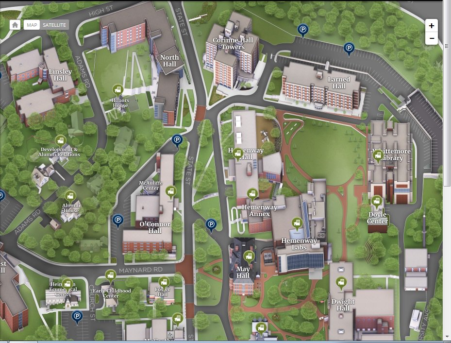 Framingham State On Twitter Fsu Has Launched An Interactive Map