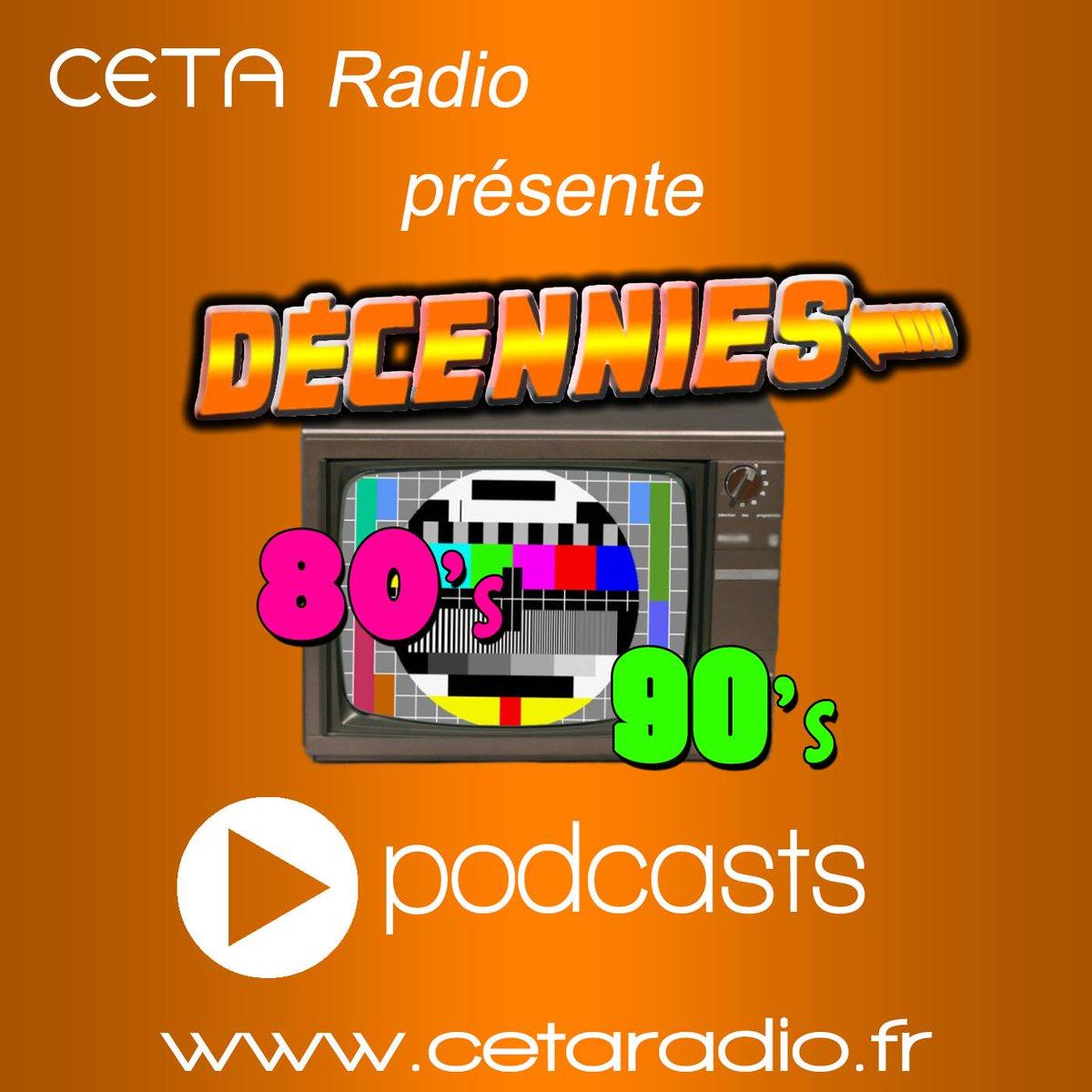 Décennies #80&#39;s #90&#39;s  #émission en #podcasts  http://www. cetaradio.fr/decennies-80-9 0-s/podcasts &nbsp; …  … …       #souvenirs #pop #rock #webradio bonne écoute !<br>http://pic.twitter.com/9H7fGhIwnV