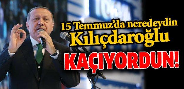 '15 Temmuz'da neredeydin Kılıçdaroğlu... KAÇIYORDUN' https://t.co/5TZh...