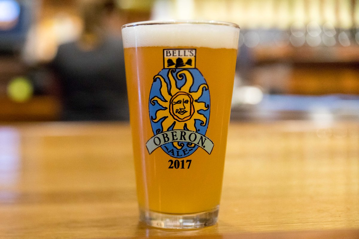Happy #OberonDay17! Show us your first #Oberon pints. Cheers! ☀️🍻 http...