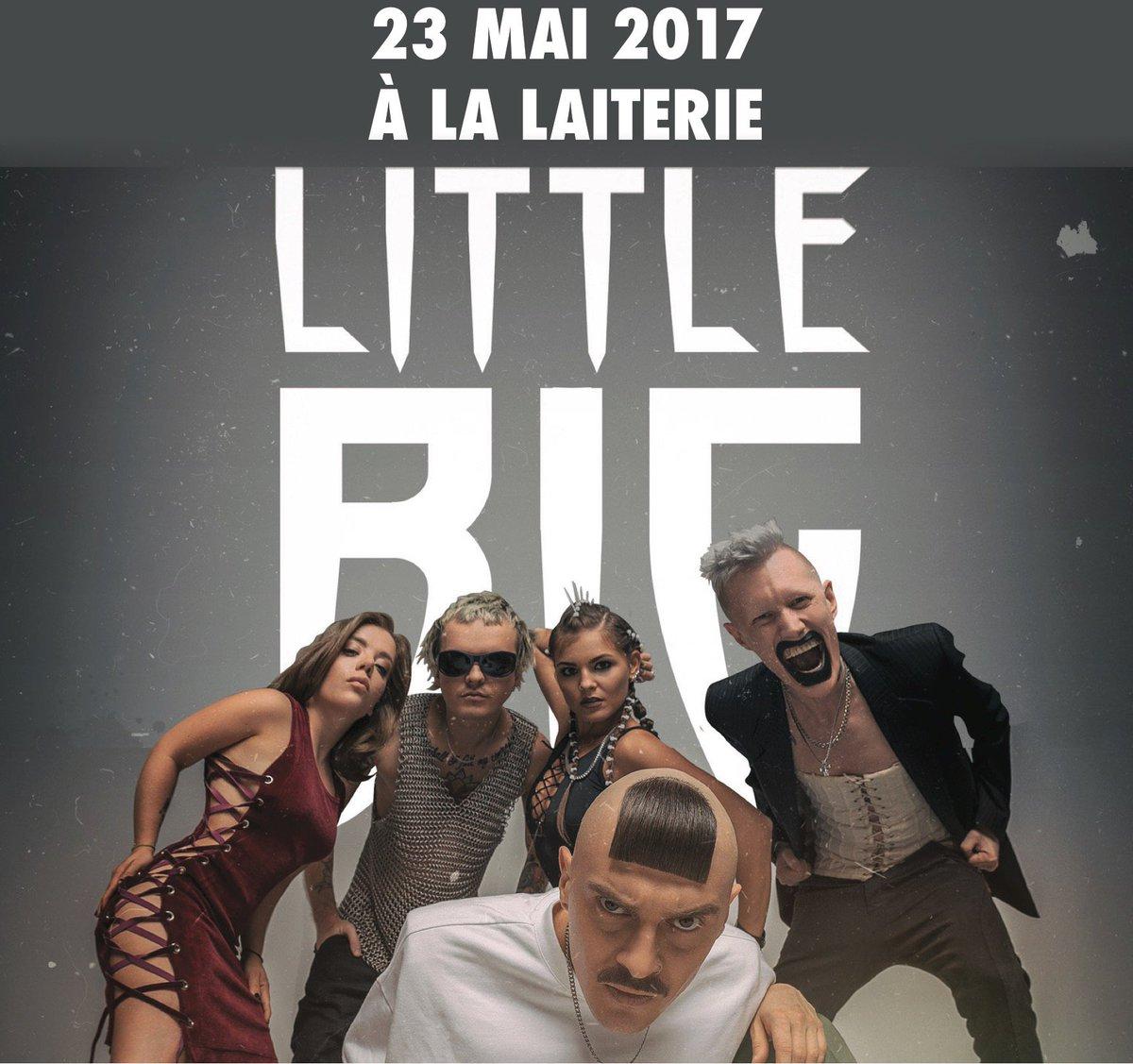 &gt; le 23 mai à La #laiterie #littlebig #electro #rave #hiphop #trash #strasbourg Infos  https:// goo.gl/v2Au3o  &nbsp;  <br>http://pic.twitter.com/MohV9KMdHS