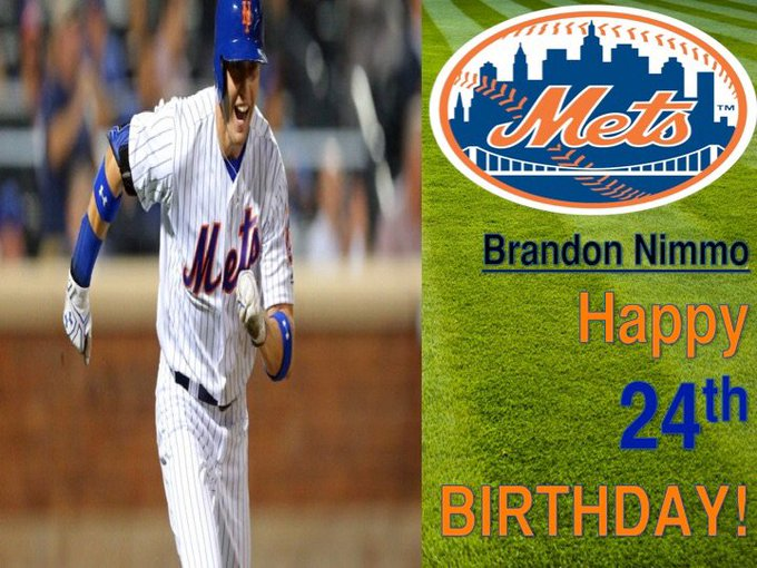Happy Birthday, Brandon Nimmo!  