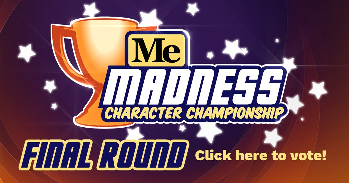 The final round of #MeMadness starts today! Click here to vote: https:...