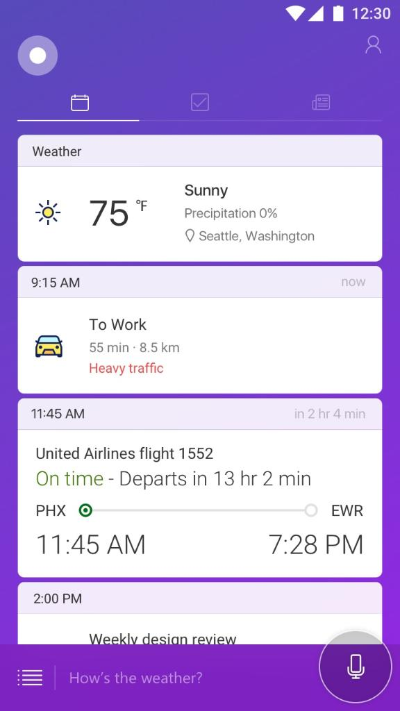 Cortana at your fingertips, now on Android lock screen https://t.co/Io...
