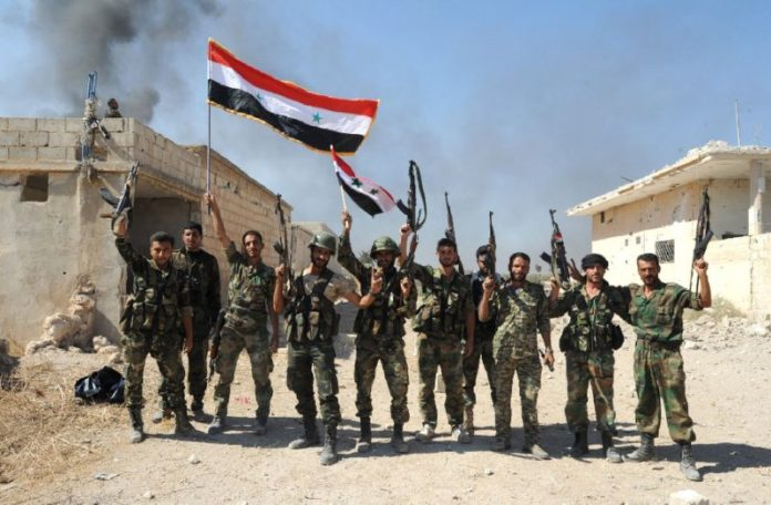 Syrian Army overpowers Al-Qaeda rebels at key northern Hama town  http:// bit.ly/2nsoWDh  &nbsp;   #Syria #Qaeda #ISIS #Daesh #Russia #Turkey #SAA<br>http://pic.twitter.com/7pTqwSnrnM