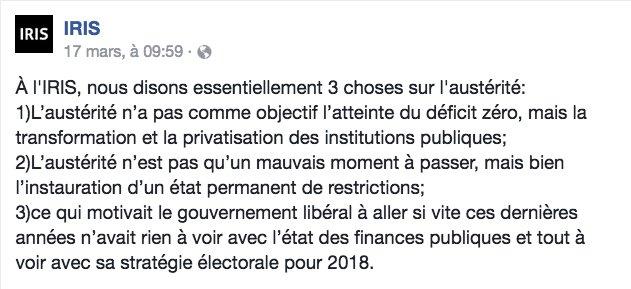 Saison budgétaire : le jour de la marmotte #privatisation #austérité #polqc #assnat #électoralisme #PLQcorrompu  http://www. journaldemontreal.com/2017/03/17/sai son-budgetaire--le-jour-de-la-marmotte &nbsp; … <br>http://pic.twitter.com/i5QVmoghNP