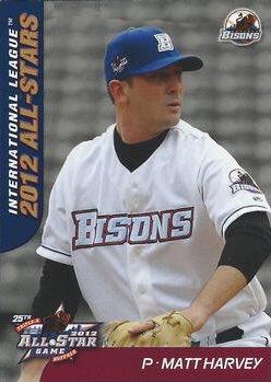 Happy 28th birthday to Matt Harvey, who was 7-5, 3.68 ERA for the 2012