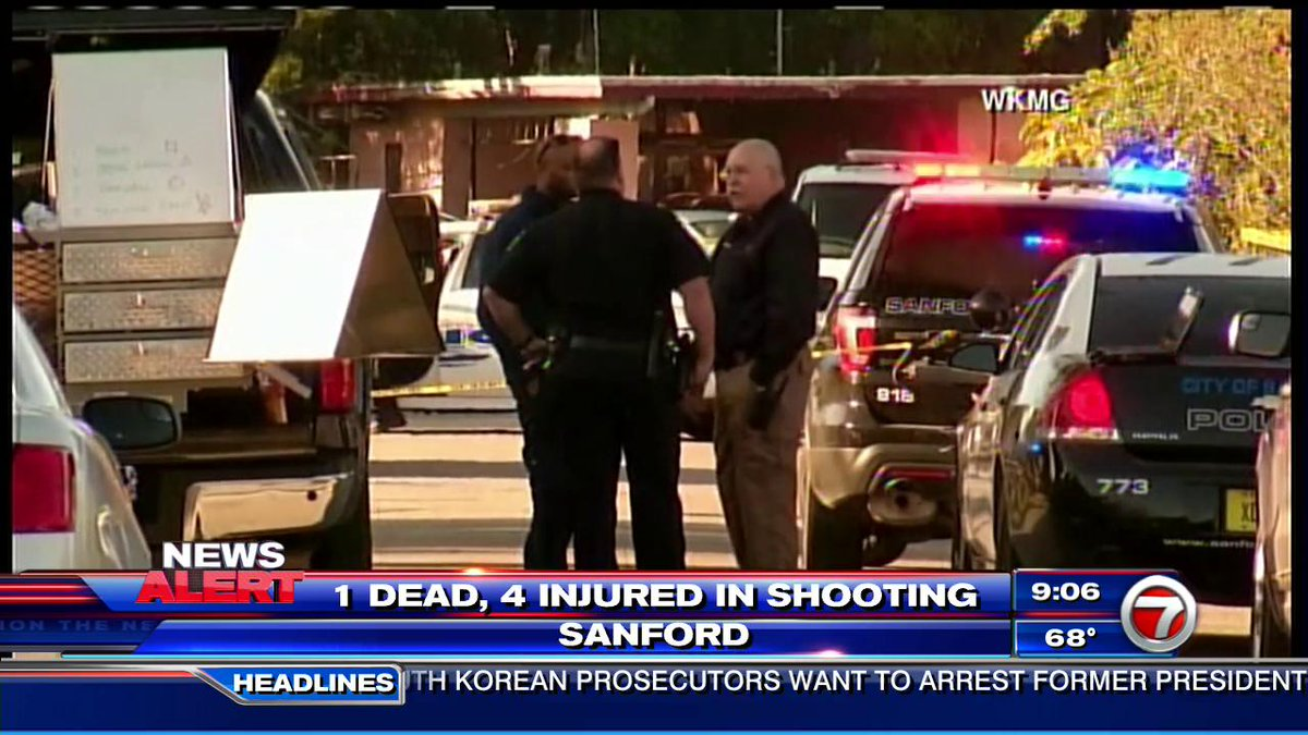 #BREAKING: 1 dead, 4 injured, including 2 children, in a Sanford shoot...