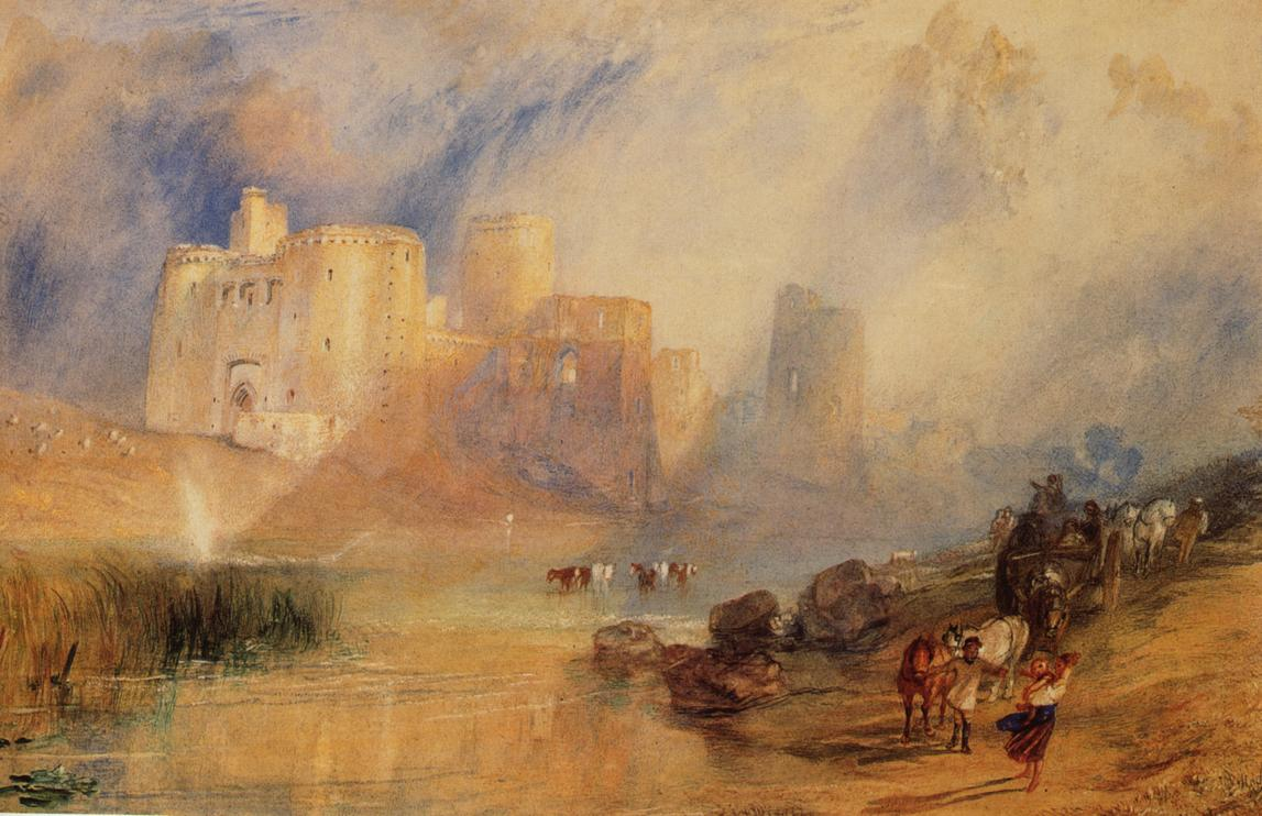 .@_rjardon The light is magical - a smorgasbord of luminous pigment! #Turner did a painting of Cydweli Castle in Wales (we visited)  <br>http://pic.twitter.com/F8tZ5QGB6j