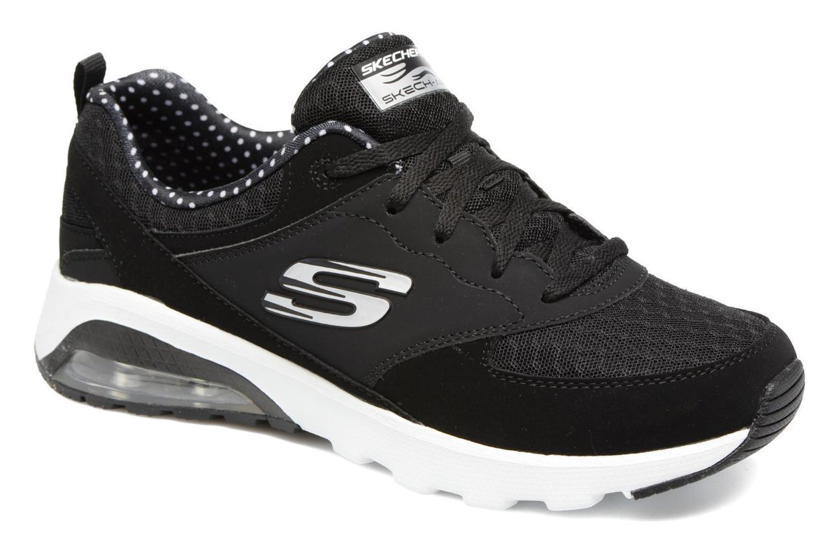 Women&#39;s Skechers Skech-Air Extreme Lace-up Trainers in Black #Sarenza #Fashion #Shoes #Bags #Deals -  http:// wp.me/p6RLYi-afg  &nbsp;  <br>http://pic.twitter.com/I7exUVAS7P